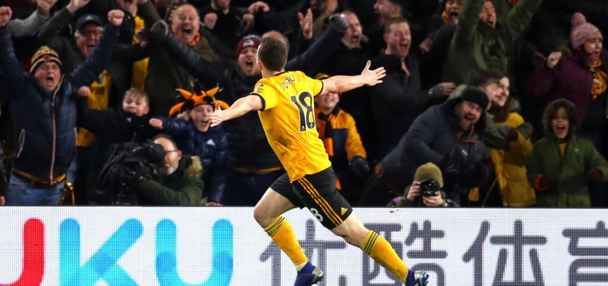 Jota doubles Wolves lead against Man Utd in the FA Cup Quarter Final.